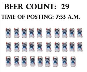beer count vertical