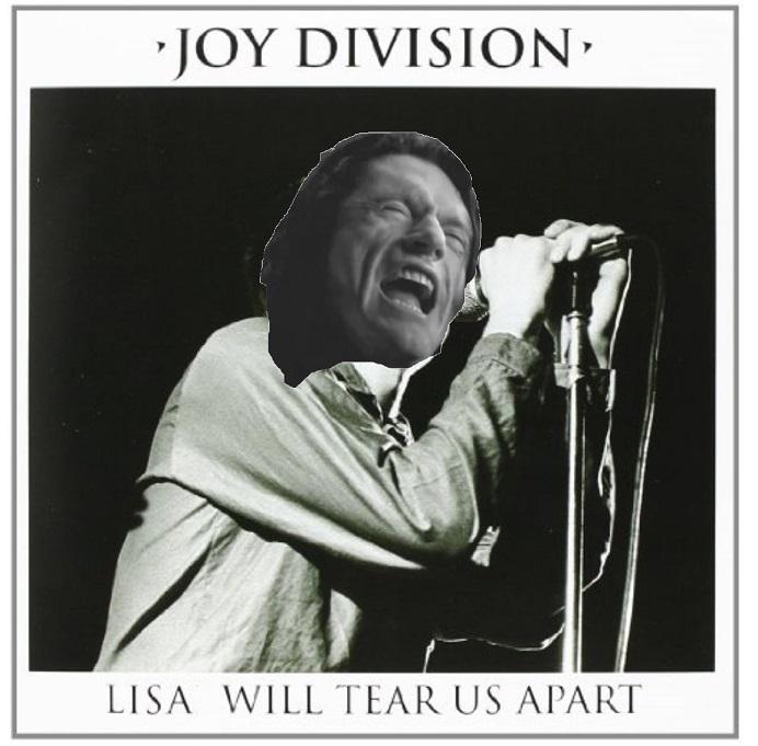 Lisa will tear us apart